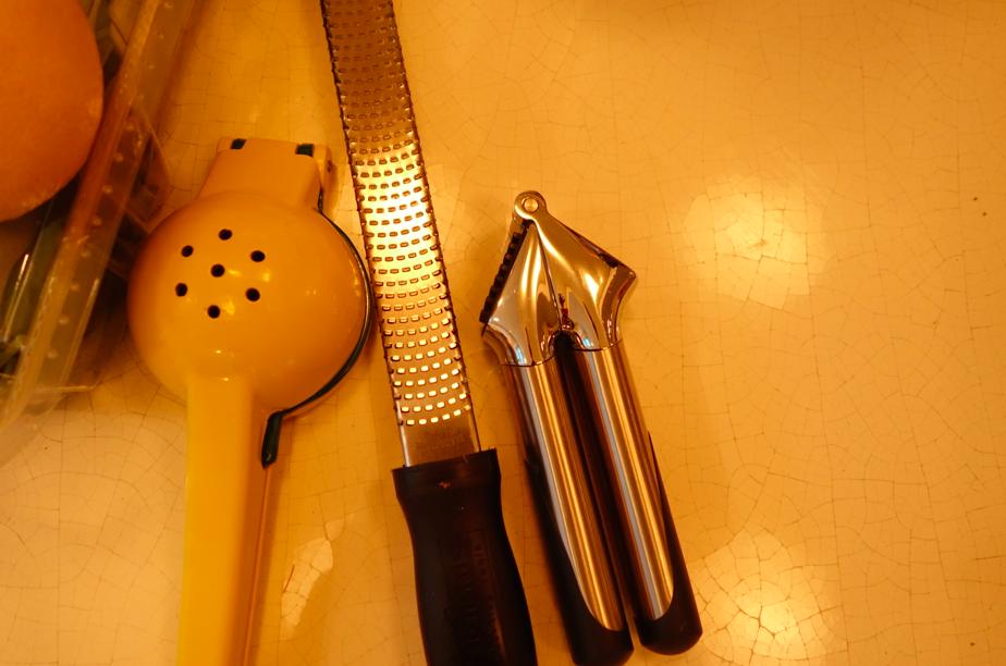 Tools (plus a cuisinart)