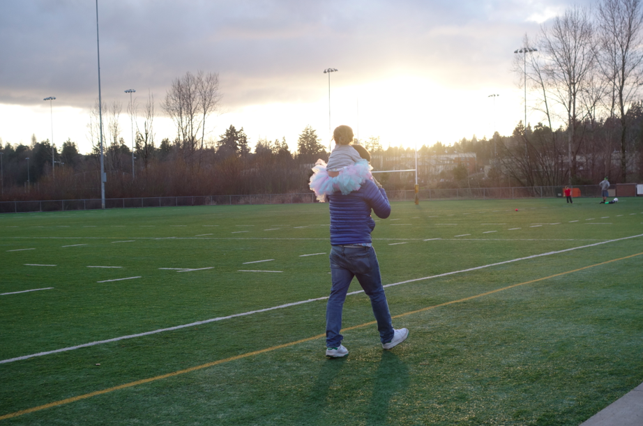 """Love this shot -- it is a mixture of """"Friday Night Lights"""" with """"Pacific Northwest"""""""
