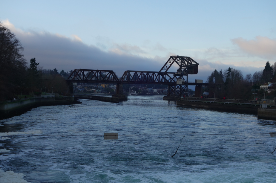 Dramatic bridges.
