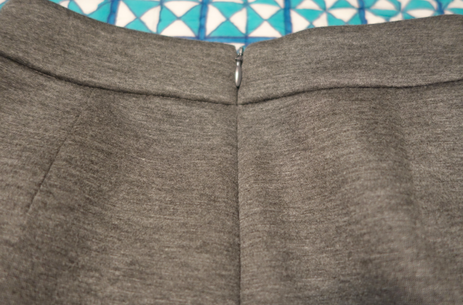 Back zip.