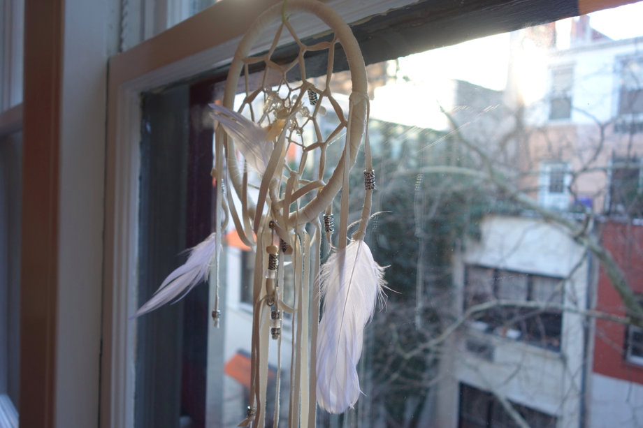 """Funny enough, Cruzzie asked me """"How does the dream catcher work? How does it capture my nightmares?"""" STUMPED ME. """"Magic???"""""""
