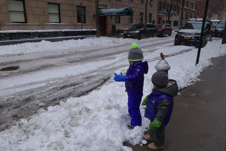 NYC snow life