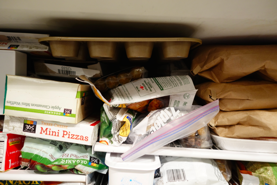 No judgement about my freezer.