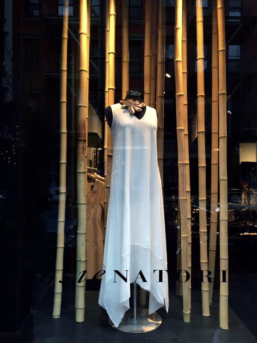 Beautiful white dress.