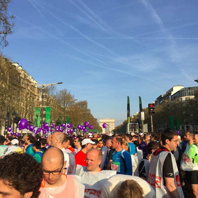 Men. The Paris marathon had 80% males last year, and this year 75% males. More females this year, but still not many. Come on European Women, show the men WHO THE STRONG and determined ones are!