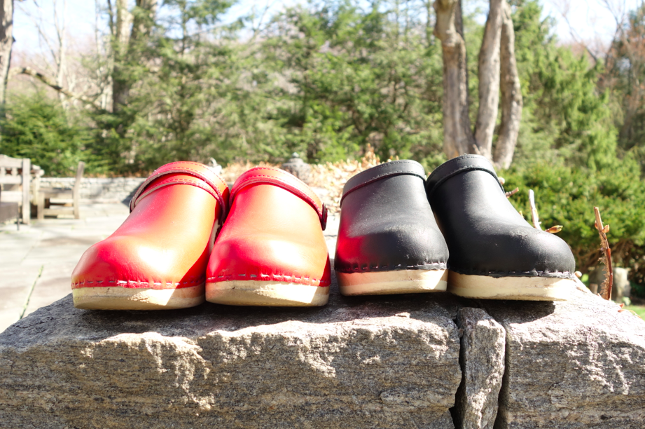 My collection. Once I purchased the clog master clogs, I never stepped foot again into my danskos. These shoes are life savers. They fit the foot perfectly (hence the custom nature of the clogs) and feel great to walk in.