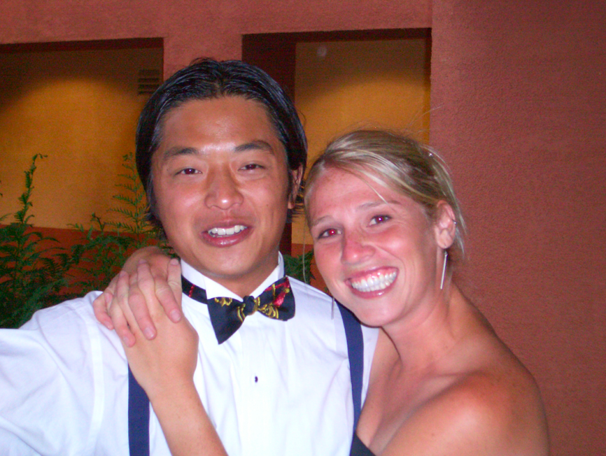 This was the GSB prom. I remember nothing of that night. Except that I lost my shoe, barely got on the bus to get back to Palo Alto from San Francisco, drank pink punch by the gallon, and made a good impression for Ken's classmates. I think that that is the last time I ever really drank.