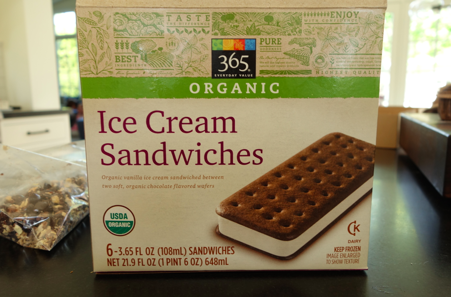 Whole Foods makes its own organic line of sandwiches. What would we do without WF?