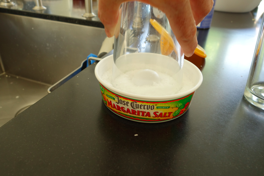 Salt for cocktails.
