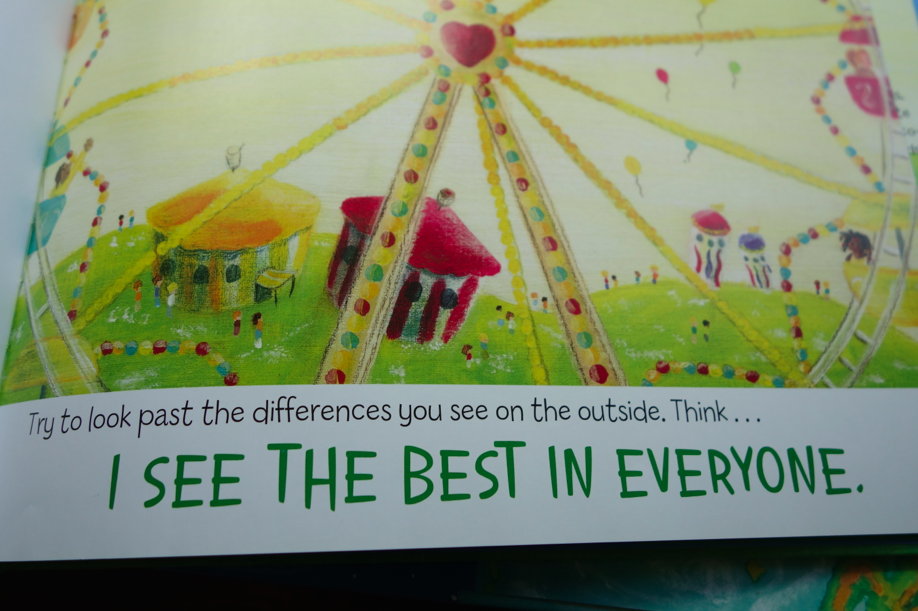 I see the best in everyone -- good reminder.