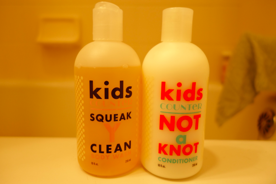 Kids squeak clean.