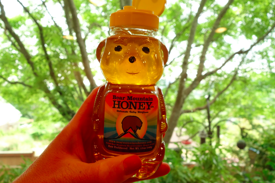 Squeeze the honey (local honest is the best).