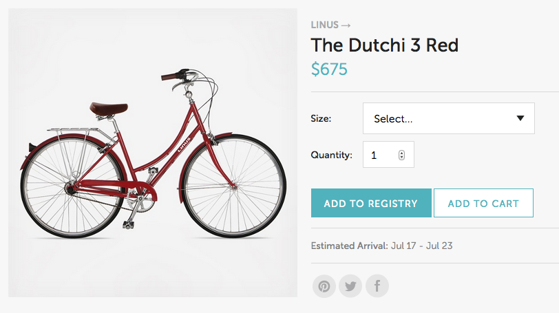 Hipster bike > teacups. Yes please!