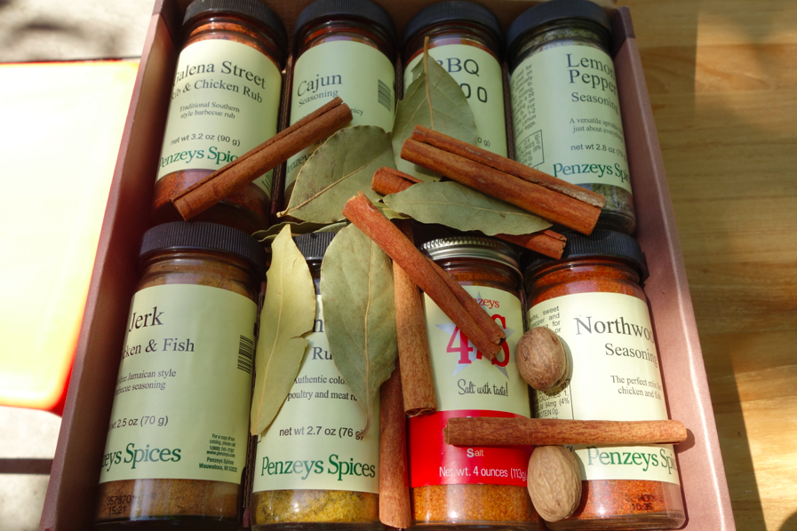 Packaging -- with fresh spices in addition!