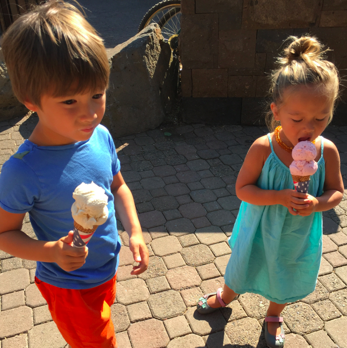 An ice cream cone a day keeps the doctor away. A crowd favorite, ice cream (and candy) from good 'ol Goodies!