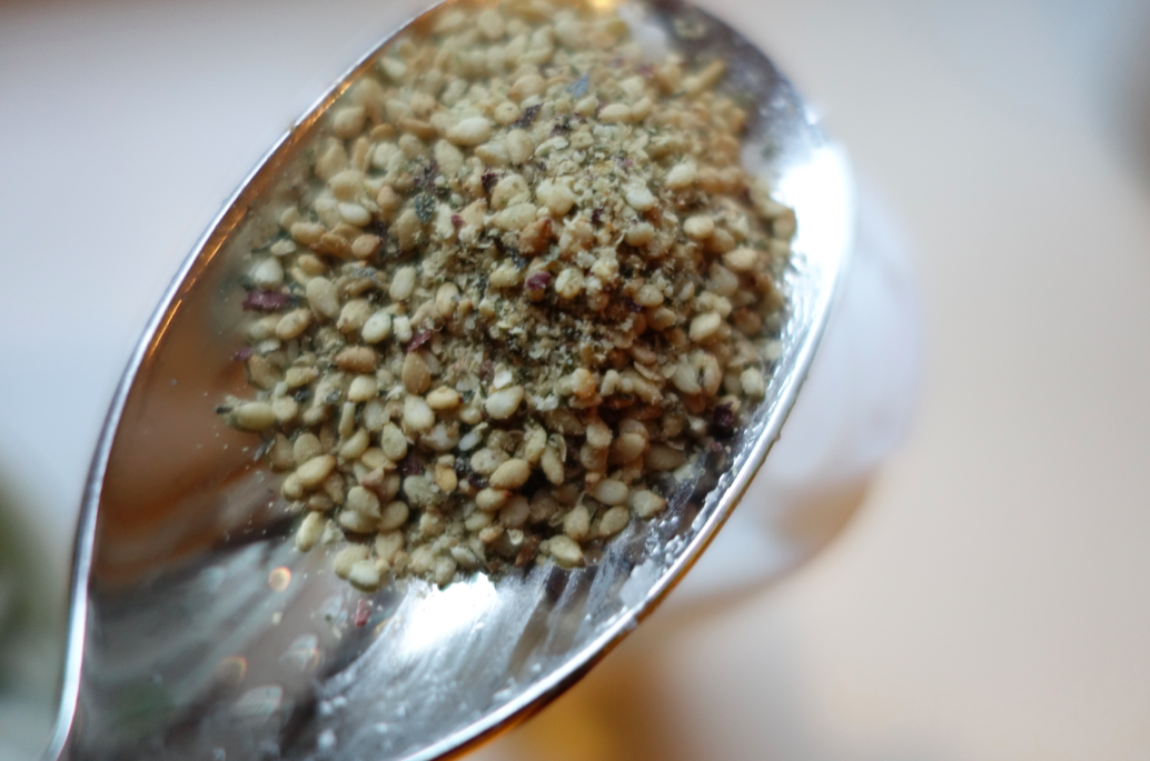 Spoonfull of seaweed and sesame keeps the doctor away.