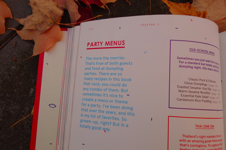 Party menus!