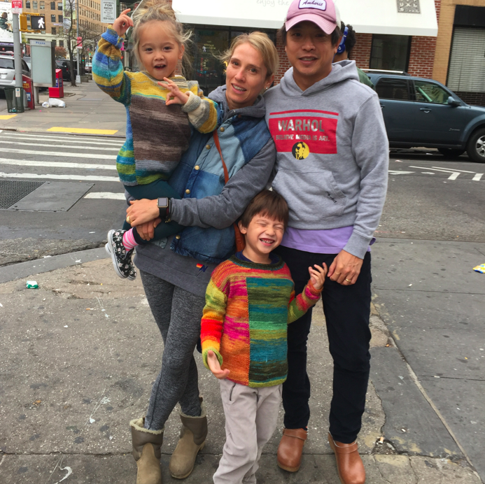Sunday morning, we had brunch with the kids and Auntie Em at Jack's Wife Frieda in Soho. We rediscovered the love of driving early Sunday morning downtown and being able to eat anywhere and park on the streets. Where next should we eat -- would love suggestions!