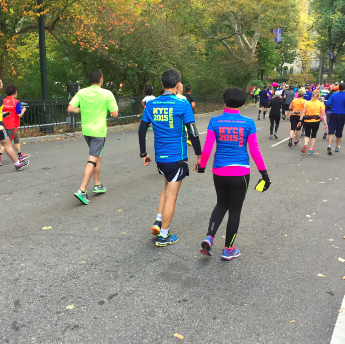 Love is all that matters. I counted many couples holding hands -- young and old -- walking, supporting running, and cheering each other on. I can't wait to do more marathons -- alone, with friends, and with my partner in life, Babers.