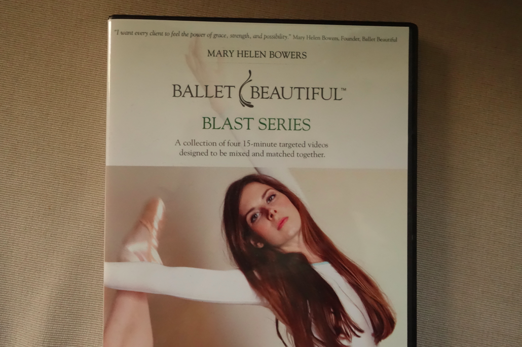 Ballet Beautiful. Mary Helen was the one behind Natalie Portman's arms for Swan Lake.