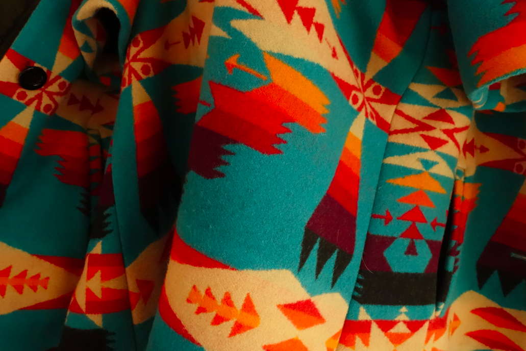 Gotta love good ol Pendelton style Navajo prints
