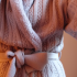 Natori Cable Knit Sherpa Robe