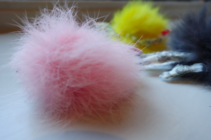So soft! Pom pom this pom pom.