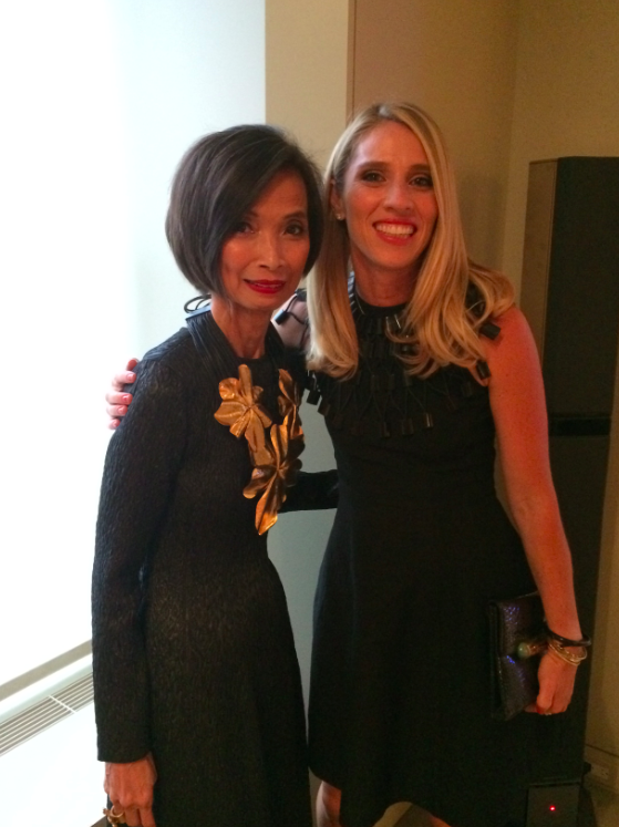 JCN and me at the CFDA's