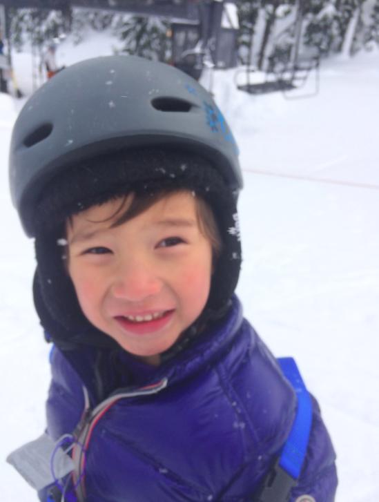 Happy ski bum
