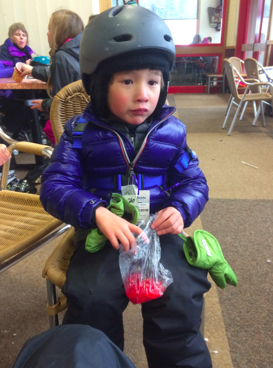 Teaching kids to ski ski harnesses josie girl blog for Swedish fish shot