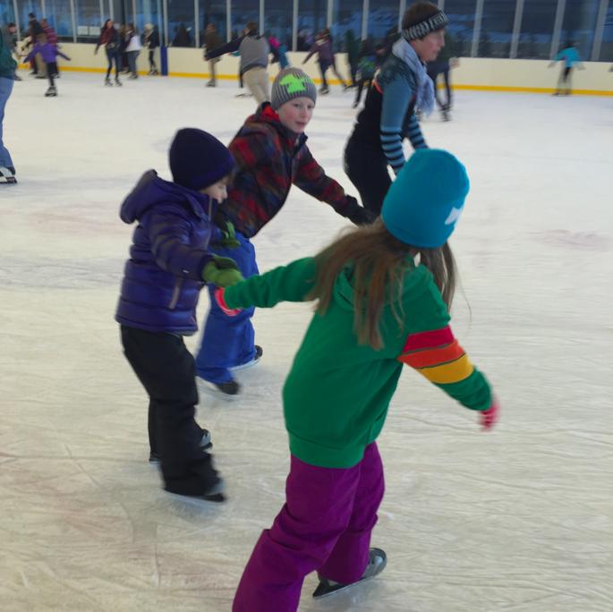 skating.