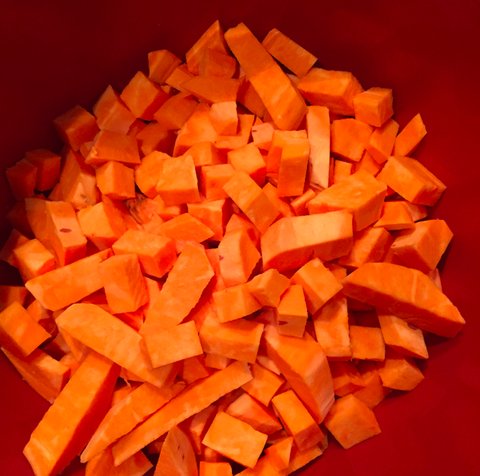 Bucket full of orange.