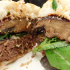 Winter Grilling:  Gruyere Burger with Breaded Portobello Mushroom