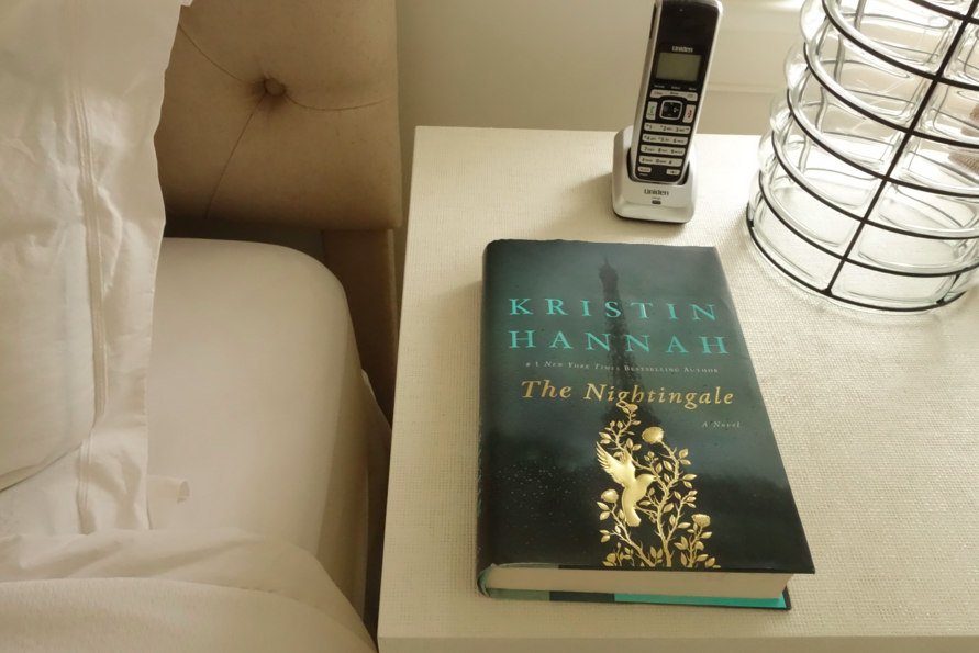 I have not been able to start another book since I finished this one. The Nightingale just took everything out of me and left me heartbroken.