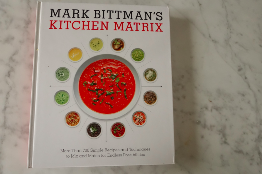 Kitchen matrix. How clever, imaginative, and smart.