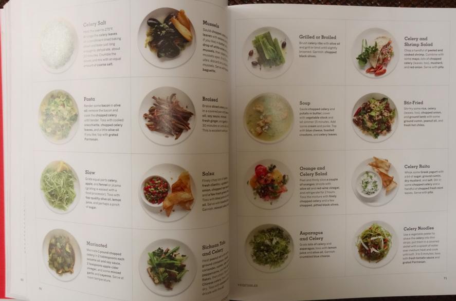 16 ways to cook celery! SOLD!