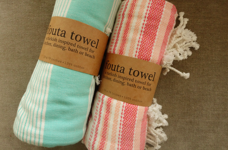 Fouta towel. I like everything about it, including it's name.