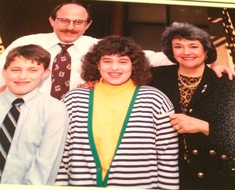 The Michels Family in the 90s.