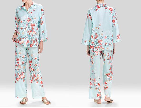 I love this print and the cotton. These are the perfect Spring Summer set.