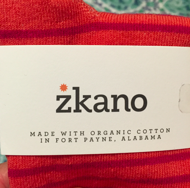 Organic socks? Who knew! And yes, I love them!