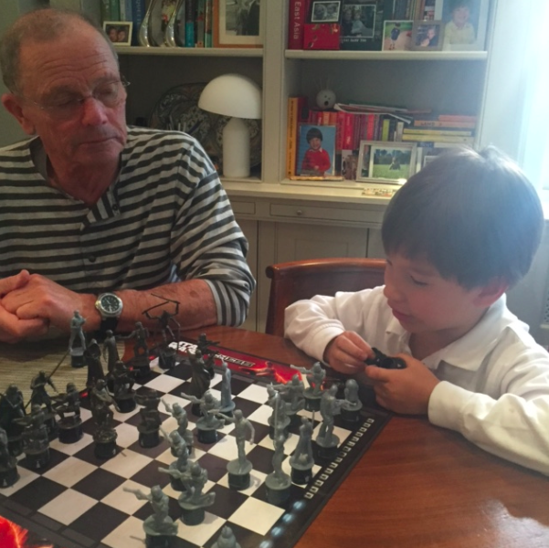 My dad was the Junior Chess Player of Poland (and my uncle wrote a book about chess)....and I have no idea how to play chess....