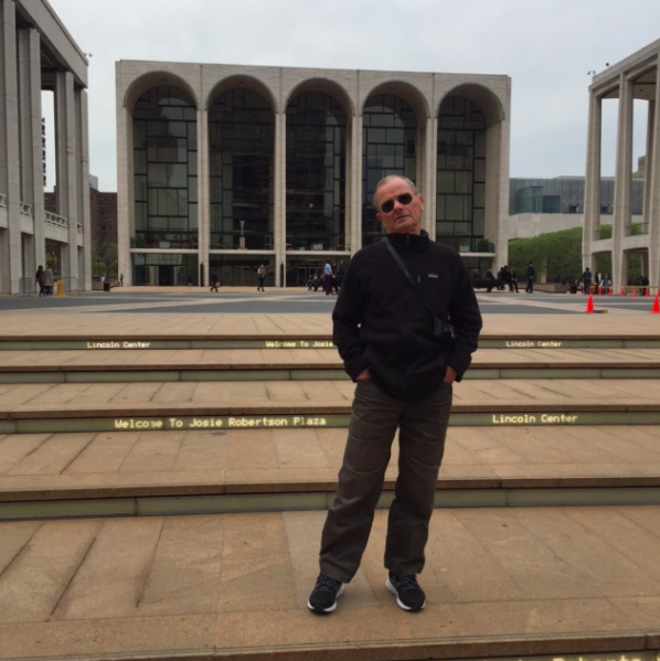 When the kids were in school last week, Tata and I would walk around the city looking at different buildings. This one: Lincoln Center.