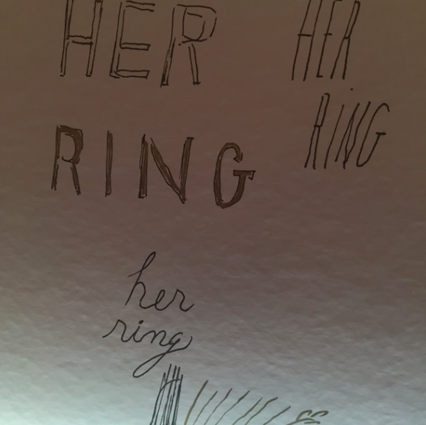 Herring wallpaper, too. GIRL, my husband loooooves herring.