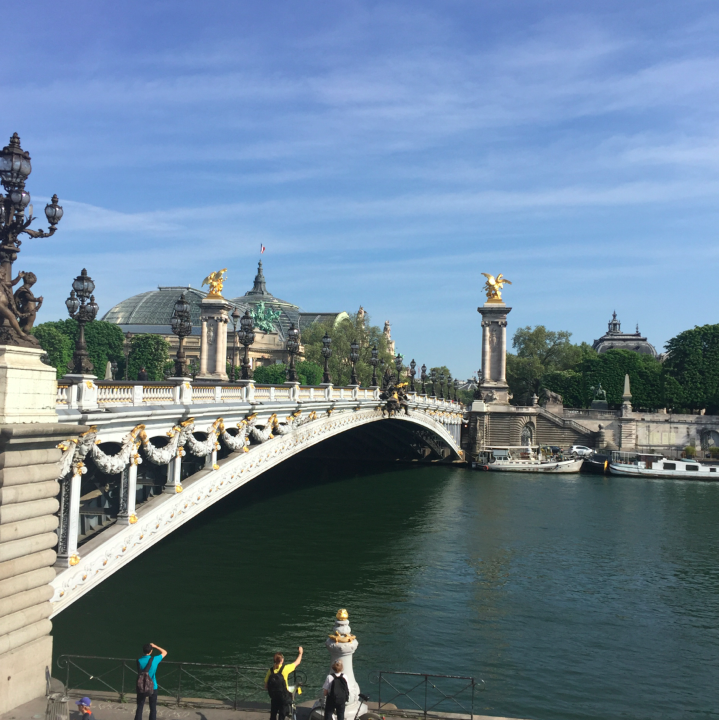 I mean, I can't stop looking at the beauty of Paris!