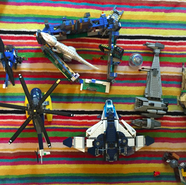 And....my son really likes legos.