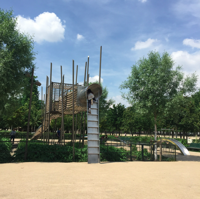 Parisian Playgrounds are more beautiful than anywhere else.