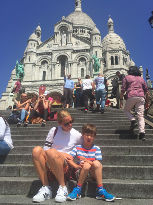 Sacre Coeur: One of my absolute favorite places in Paris.
