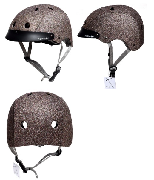 Sparkle helmet....my next purchase.