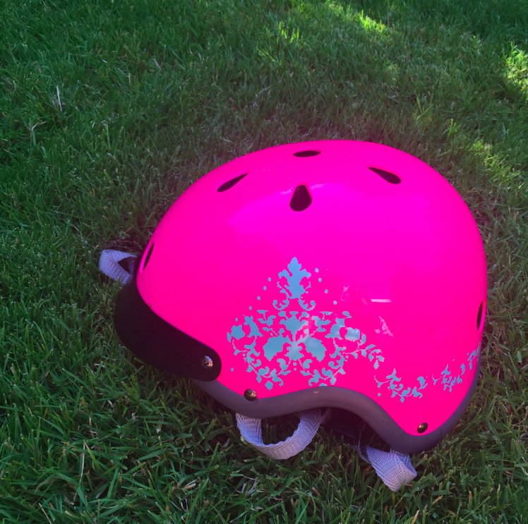 The first of many Sawako helmets in my personal collection. As a bike rider (in the Summer in Oregon), I know what good helmets and bad helmets are, and trust me, this wins gold star for function, fashion, and comfort. It gets even more credit that it is designed by my friend.