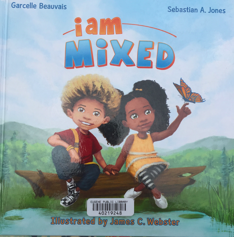 A cute book on mixed kids.